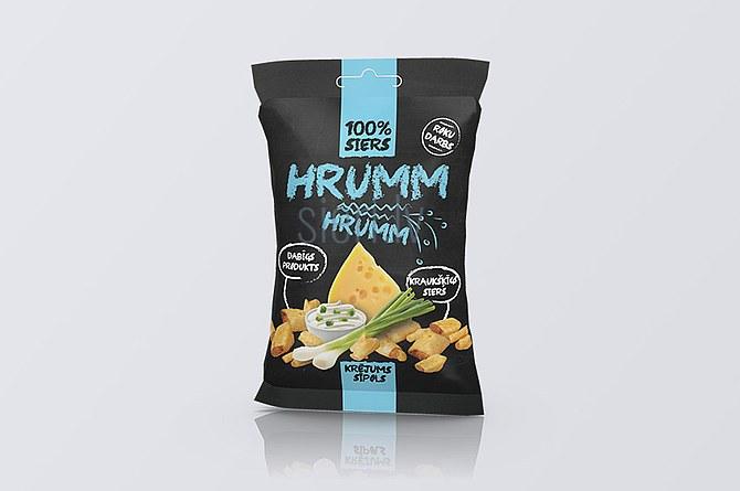 Siers HRUMM HRUMM ar krējuma sīpolu garšu